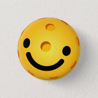 Mini bouton de Pickleball : Visage souriant Badges