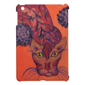 mini caisse de je-protection orange de chat coque iPad mini