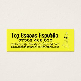 Mini Carte De Visite Banana Republic supérieure