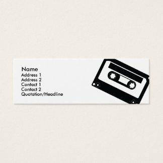 Mini Carte De Visite Bande - maigre