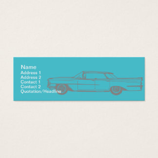 Mini Carte De Visite Cadillac - maigre