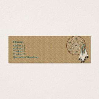 Mini Carte De Visite Coutume de Dreamcatcher de Natif américain de KRW
