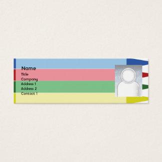 Mini Carte De Visite Crayons - maigres