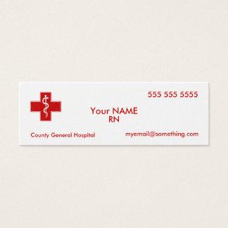 Mini Carte De Visite Infirmière