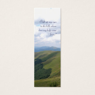 Mini Carte De Visite Inspiré - signet