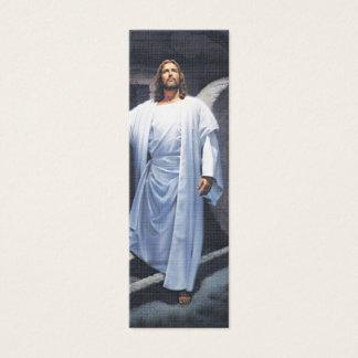 Mini Carte De Visite Jésus a des écritures saintes Marque-Rapides