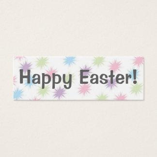 Mini Carte De Visite Joyeuses Pâques !   Signet