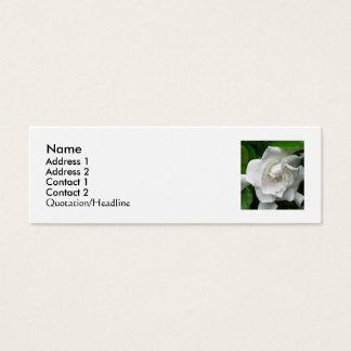 Mini Carte De Visite La conception florale de Stacey