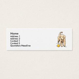 Mini Carte De Visite Labrador retriever