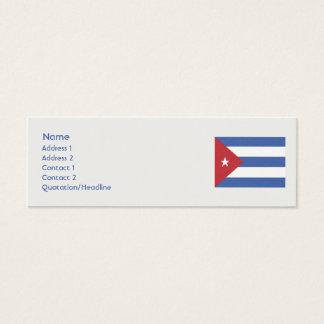 Mini Carte De Visite Le Cuba - maigre
