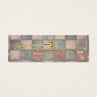 Mini Carte De Visite Le trombone marque la tache