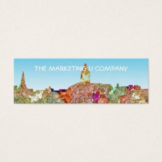 Mini Carte De Visite L'horizon d'Annapolis le Maryland SG-S'est fané