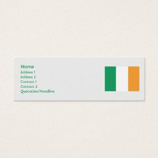 Mini Carte De Visite L'Irlande - maigre