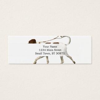 Mini Carte De Visite Marcheur de chien - queue de chien - saint Germain