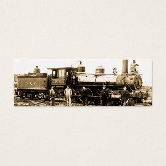Mini Carte De Visite Moteur 932 de chemin de fer de Baltimore et de