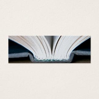 Mini Carte De Visite Pages de livre (paquet de 20 petits signets)