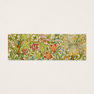 Mini Carte De Visite Pre-Raphaelite d'or de cru de lis de William