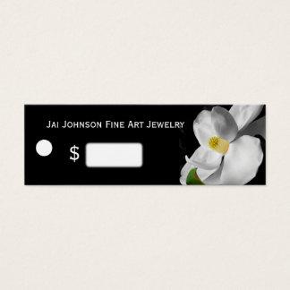 Mini Carte De Visite Prix à payer de marchandises (magnolia sur le