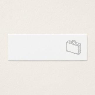 Mini Carte De Visite Serviette de bureau ou valise de voyageurs.
