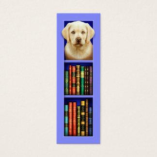 Mini Carte De Visite Signet de bleu de chiot de labrador retriever