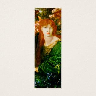 Mini Carte De Visite Signet de Ghirlandata de La par Dante Gabriel