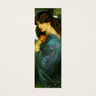 Mini Carte De Visite Signet de Proserpine par Dante Gabriel Rossetti