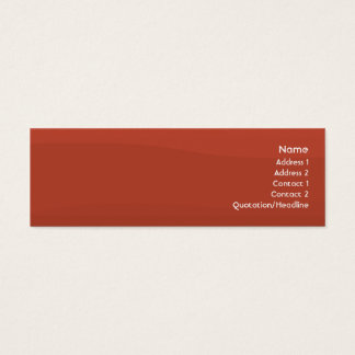 Mini Carte De Visite Tomatowave - maigre
