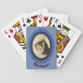Mini cartes de jeu de Schnauzer Jeux De Cartes