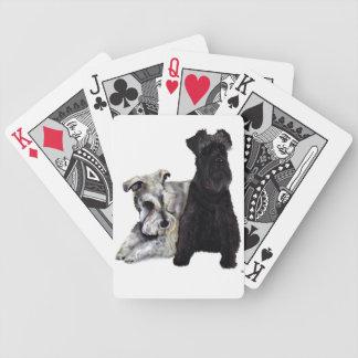 Mini cartes de Schnauzer Jeu De Cartes