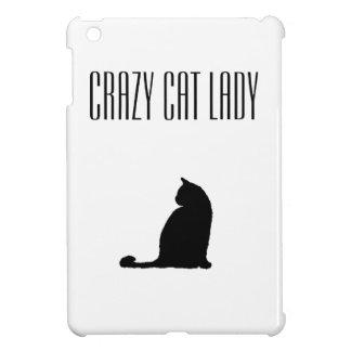 Mini cas de chat d'iPad fol de Madame Case Savvy Coques iPad Mini