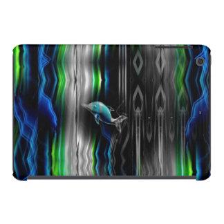 Mini cas de vibrations d'iPad au néon liquide de Coques iPad Mini Retina