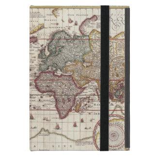 Mini cas de Vieux Monde d'iPad vintage antique de Coques iPad Mini