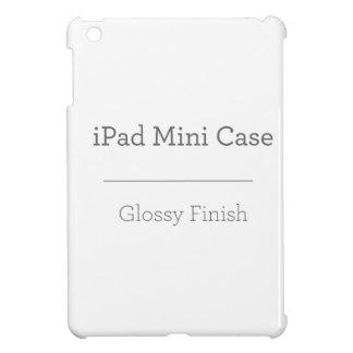 Mini cas d'iPad brillant fait sur commande Coques iPad Mini