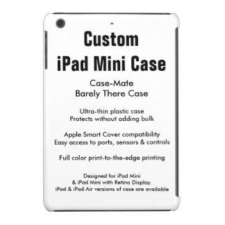Mini cas d'iPad fait sur commande - Coque iPad Mini Retina