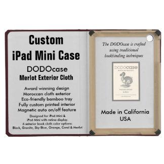 Mini cas d'iPad fait sur commande - folio de