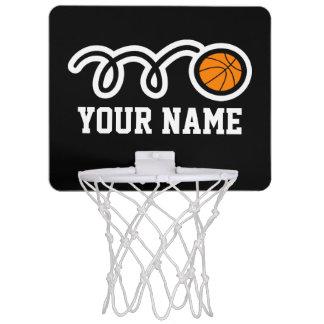 Mini cercle de basket-ball personnalisé avec le mini-panier de basket
