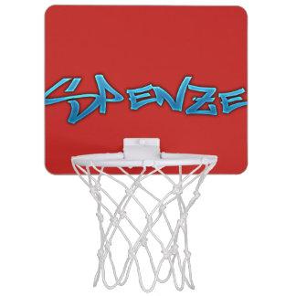 Mini cercle de basket-ball rouge de Spenze Mini-panier De Basket