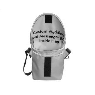 Mini copie d intérieur de sac messenger à mariage sacoche
