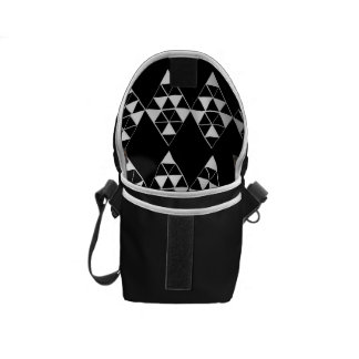 Mini copie foncée géométrique d'intérieur de sac sacoche