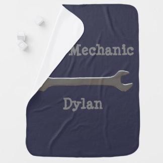 Mini couverture de bébé de mécanicien