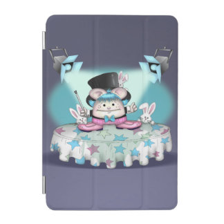 Mini couverture intelligente d'ANIMAL FAMILIER Protection iPad Mini