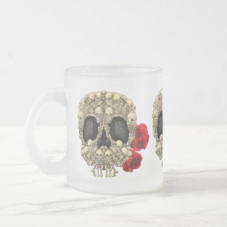 Mini crâne de sucre de squelettes tasse