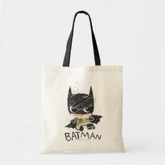 Mini croquis classique de Batman Tote Bag