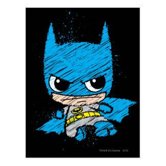 Mini croquis de Batman Cartes Postales