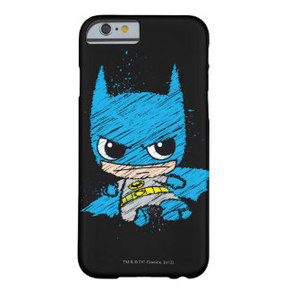 Mini croquis de Batman Coque iPhone 6 Barely There