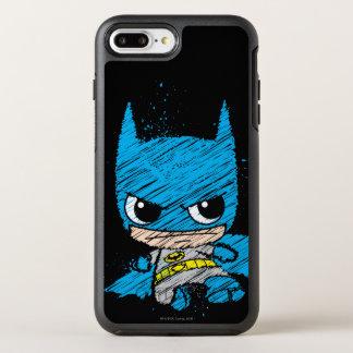 Mini croquis de Batman Coque Otterbox Symmetry Pour iPhone 7 Plus