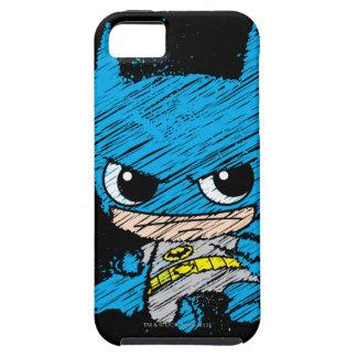 Mini croquis de Batman Étui iPhone 5