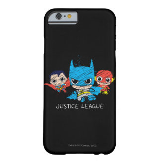Mini croquis de ligue de justice coque barely there iPhone 6
