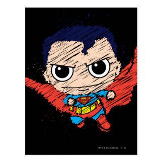 Mini croquis de Superman Cartes Postales