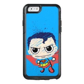 Mini croquis de Superman Coque OtterBox iPhone 6/6s